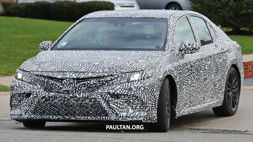 SPIED: Next Toyota Camry to spawn sportier model? Image #572482