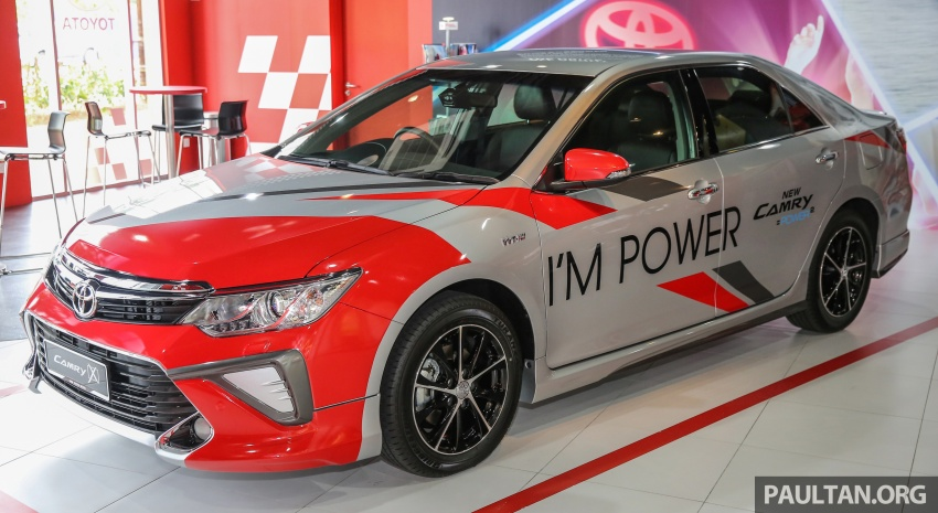 GALLERY: New Toyota Camry 2.0G X shown at Mitsui Image #584946
