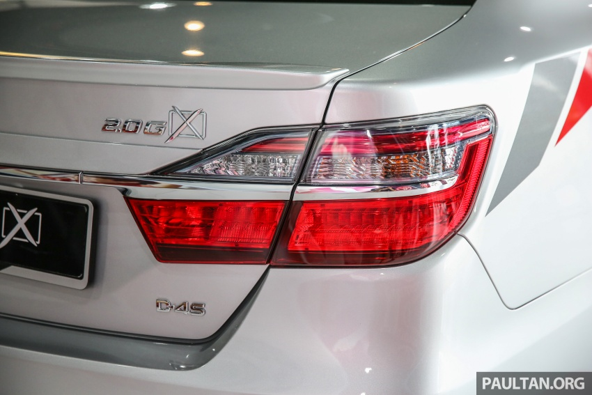 GALLERY: New Toyota Camry 2.0G X shown at Mitsui Image #584969