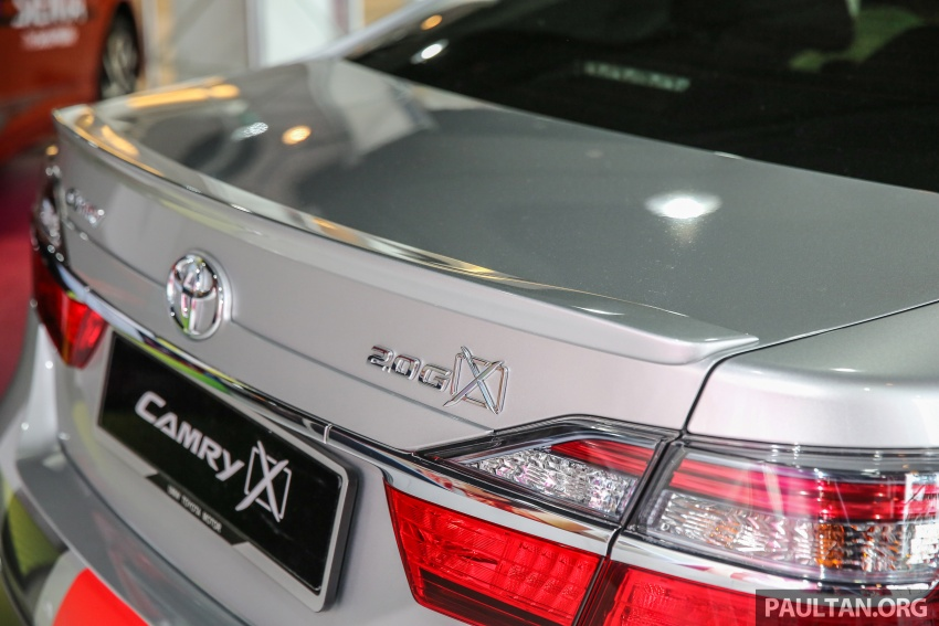 GALLERY: New Toyota Camry 2.0G X shown at Mitsui Image #584971