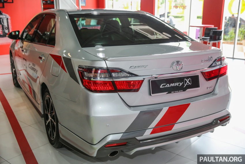 GALLERY: New Toyota Camry 2.0G X shown at Mitsui Image #584949