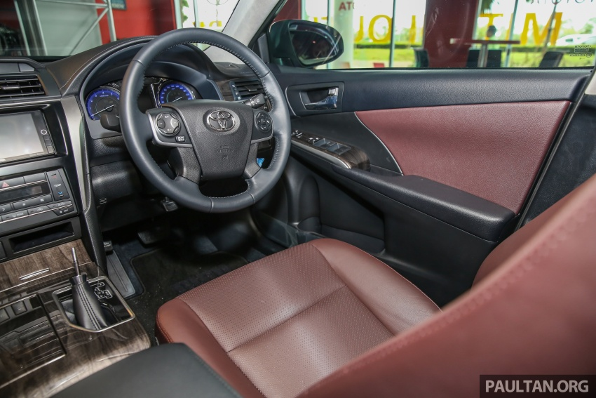 GALLERY: New Toyota Camry 2.0G X shown at Mitsui Image #584998
