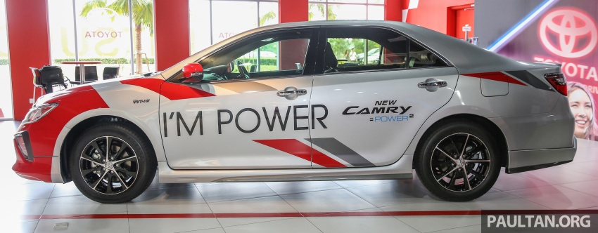 GALLERY: New Toyota Camry 2.0G X shown at Mitsui Image #584953