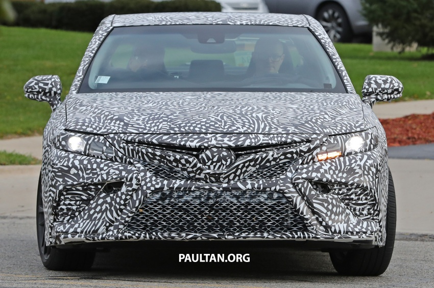 SPIED: Next Toyota Camry to spawn sportier model? Image #572483