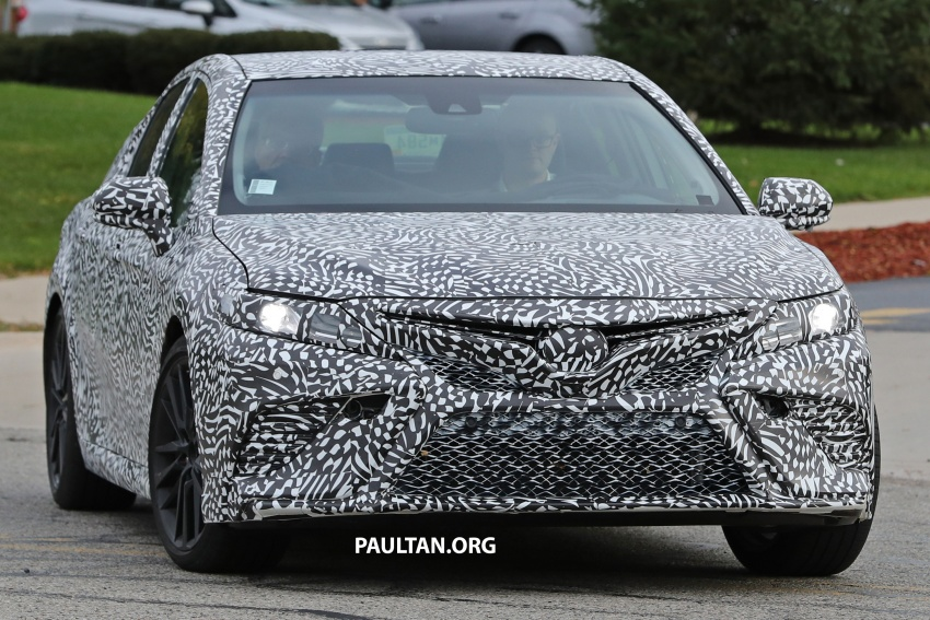 SPIED: Next Toyota Camry to spawn sportier model? Image #572485