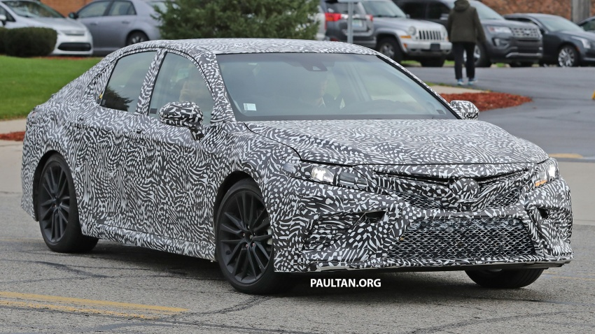 SPIED: Next Toyota Camry to spawn sportier model? Image #572487