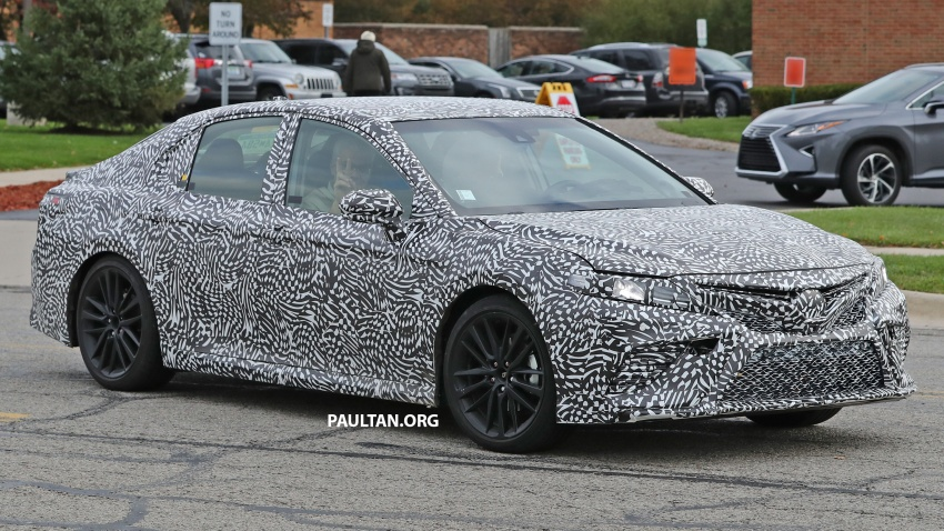 SPIED: Next Toyota Camry to spawn sportier model? Image #572488