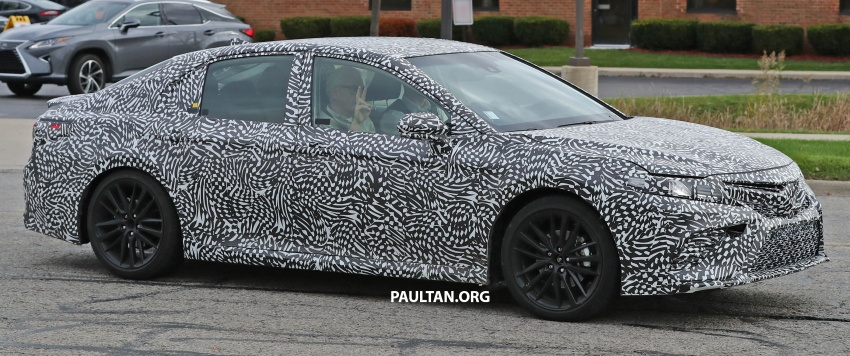 SPIED: Next Toyota Camry to spawn sportier model? Image #572489