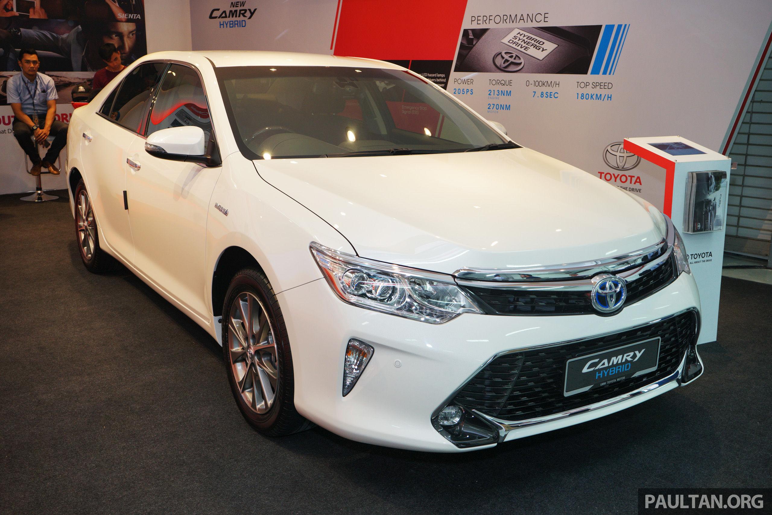 gallery new toyota camry hybrid luxury variant. Black Bedroom Furniture Sets. Home Design Ideas