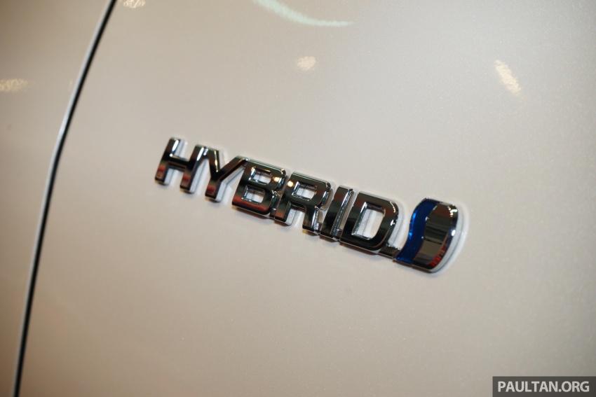 GALLERY: New Toyota Camry Hybrid Luxury variant Image #586152
