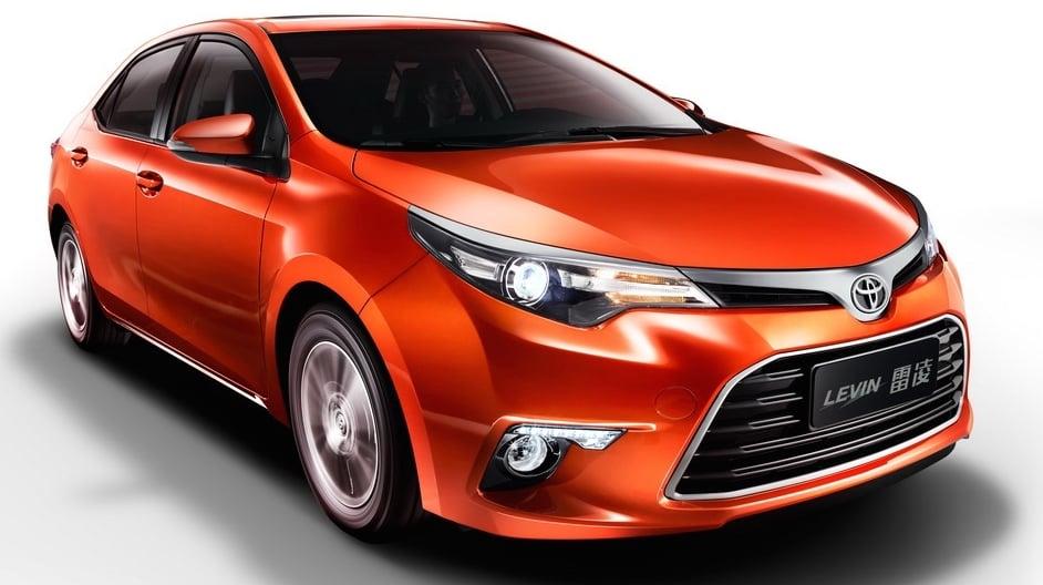 Toyota Levin 1 2t China Corolla Gets New 1 2l Turbo