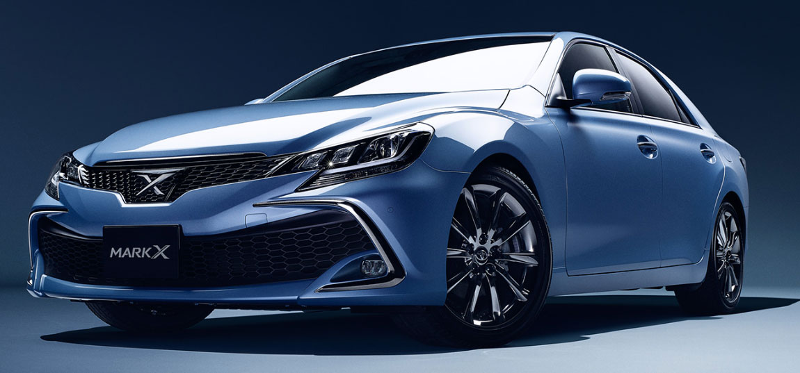 2016 Toyota Mark X Facelift Adds New Safety Sense P Image