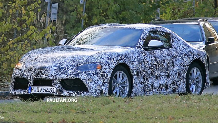 SPYSHOTS: Toyota Supra loses some camouflage Image #585579