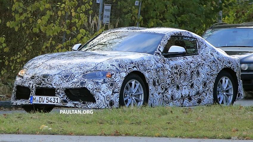 SPYSHOTS: Toyota Supra loses some camouflage Image #585580