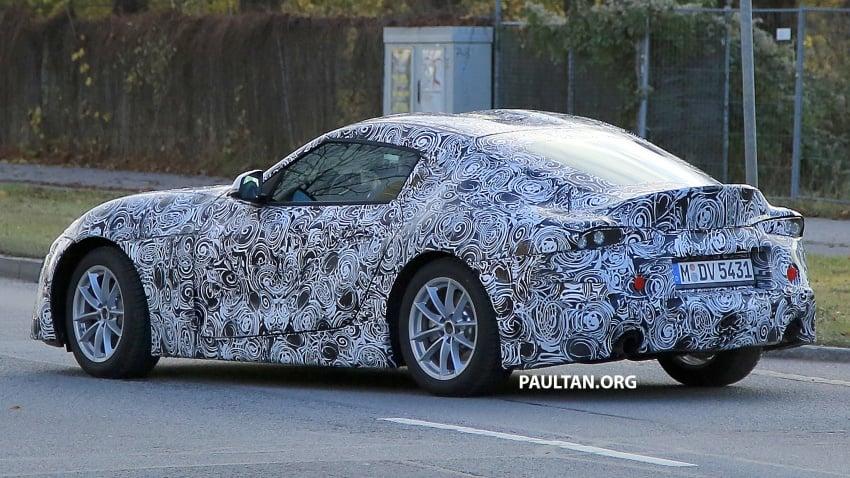 SPYSHOTS: Toyota Supra loses some camouflage Image #585584