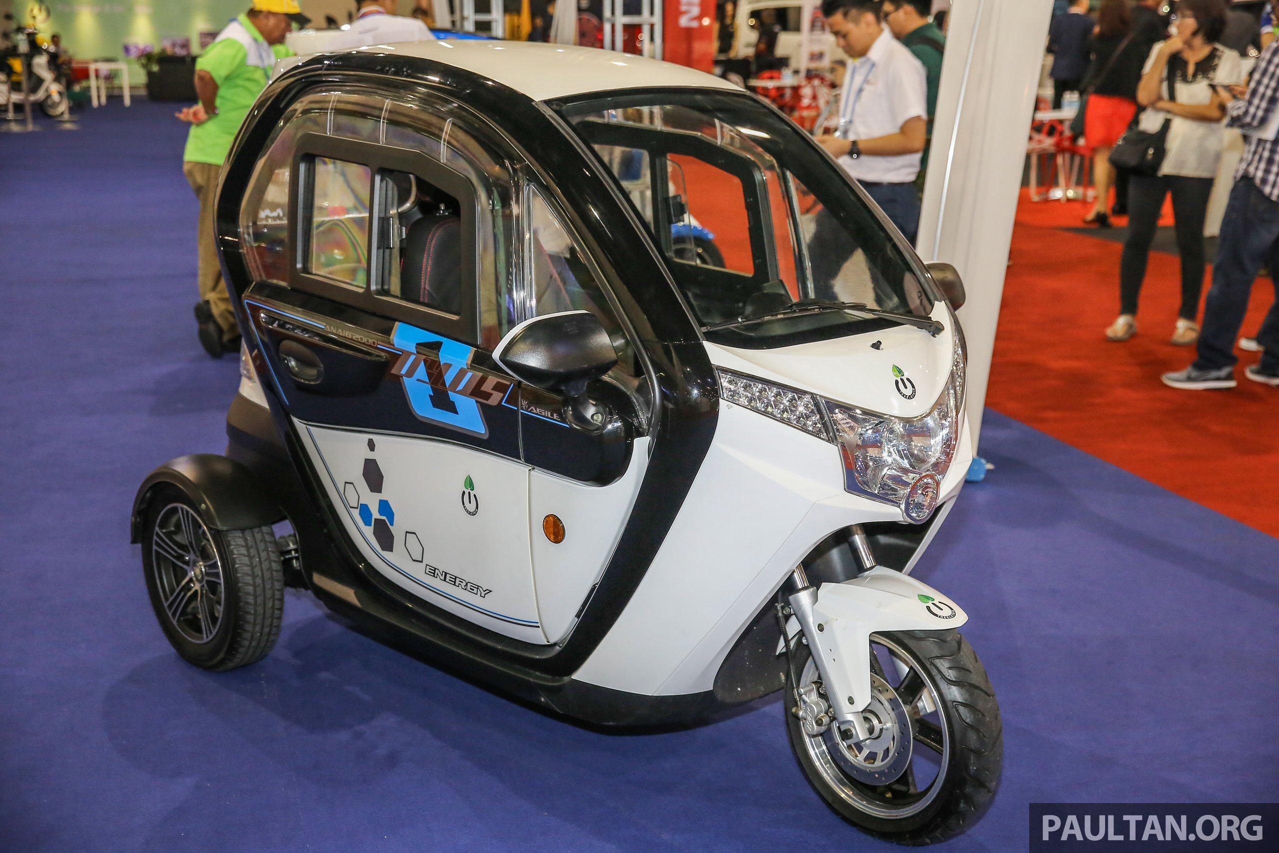 Treeletrik Ebikes On Display At Auto Show Prices Start From RM - Auto show prices