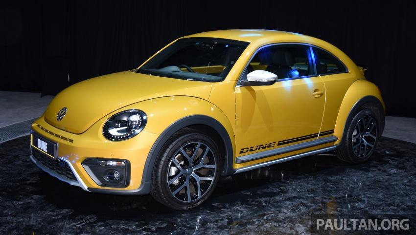 Volkswagen Beetle Dune launched – 50 units, RM180k Image #580724