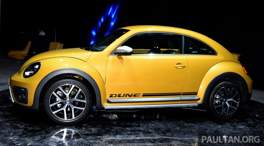 Volkswagen Beetle Dune launched – 50 units, RM180k Image #580743