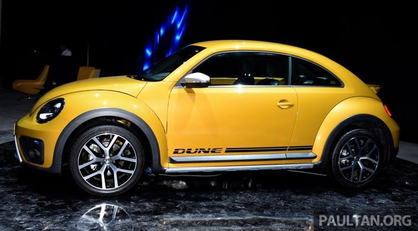 Volkswagen Beetle Dune launched – 50 units, RM180k Image #580743