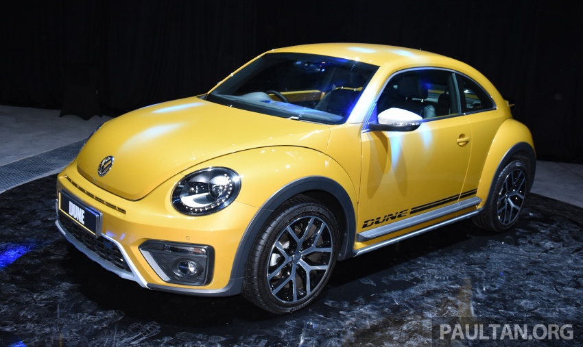 Volkswagen Beetle Dune launched – 50 units, RM180k Image #580745