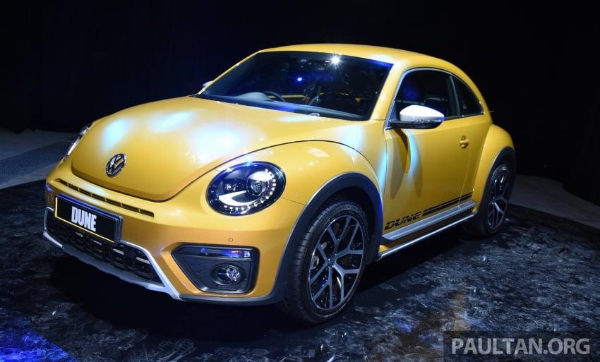 Volkswagen Beetle Dune 1.4 TSI kini di Malaysia – terhad 50 unit, CBU, harga bermula RM179,990 Image #580768