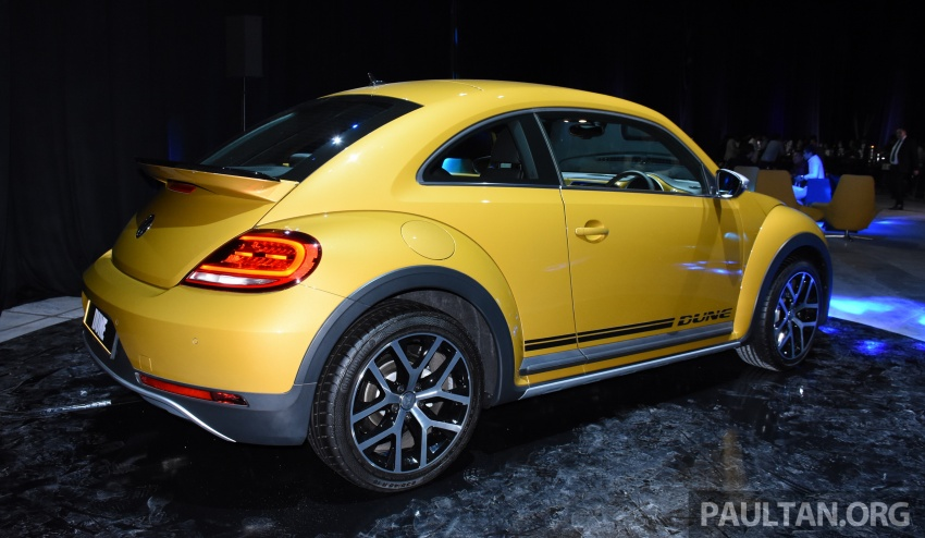Volkswagen Beetle Dune launched – 50 units, RM180k Image #580748