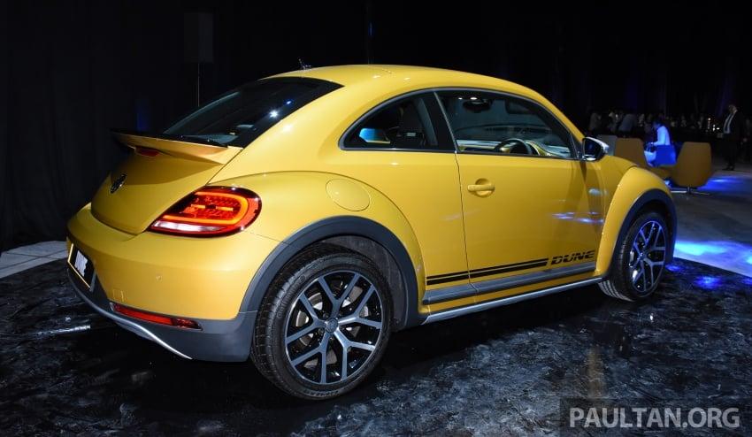 Volkswagen Beetle Dune launched – 50 units, RM180k Image #580748