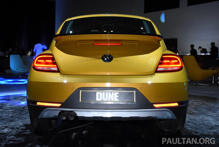 Volkswagen Beetle Dune launched – 50 units, RM180k Image #580751