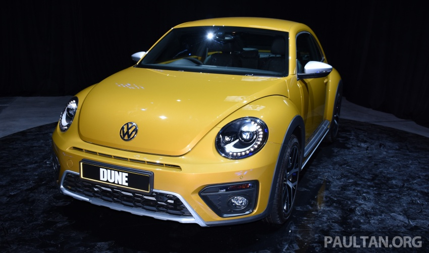 Volkswagen Beetle Dune launched – 50 units, RM180k Image #580725