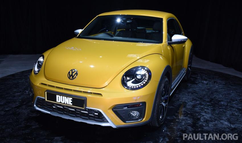 Volkswagen Beetle Dune launched – 50 units, RM180k Image #580725