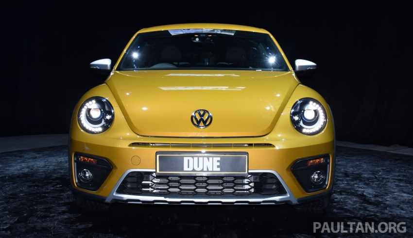 Volkswagen Beetle Dune launched – 50 units, RM180k Image #580727