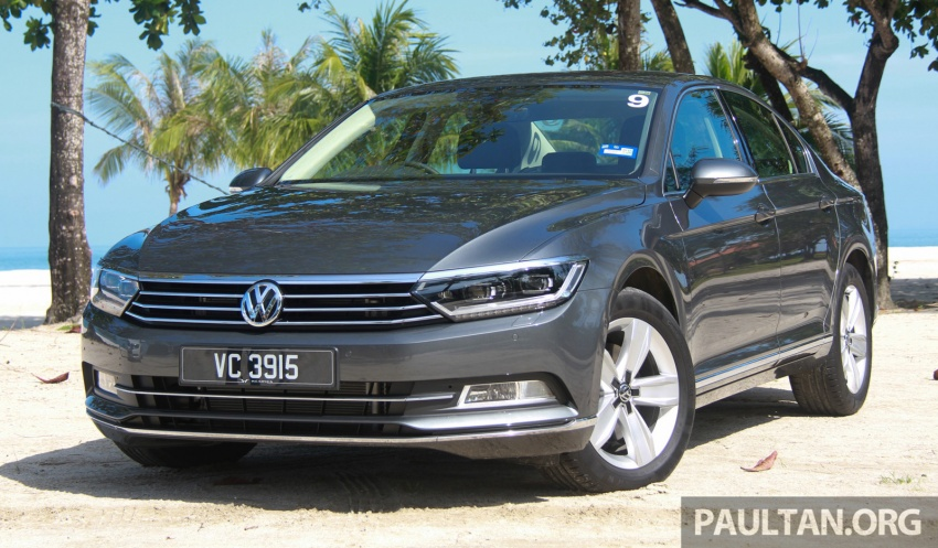 B8 Volkswagen Passat previewed in Malaysia – 1.8L and 2.0L TSI, 3 trim levels, launching this month Image #573341