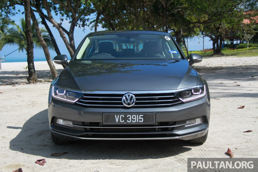 B8 Volkswagen Passat previewed in Malaysia – 1.8L and 2.0L TSI, 3 trim levels, launching this month Image #573298