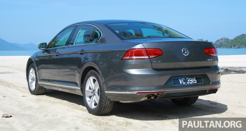 B8 Volkswagen Passat previewed in Malaysia – 1.8L and 2.0L TSI, 3 trim levels, launching this month Image #573342