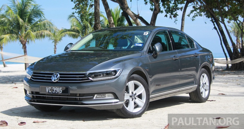 B8 Volkswagen Passat previewed in Malaysia – 1.8L and 2.0L TSI, 3 trim levels, launching this month Image #573340