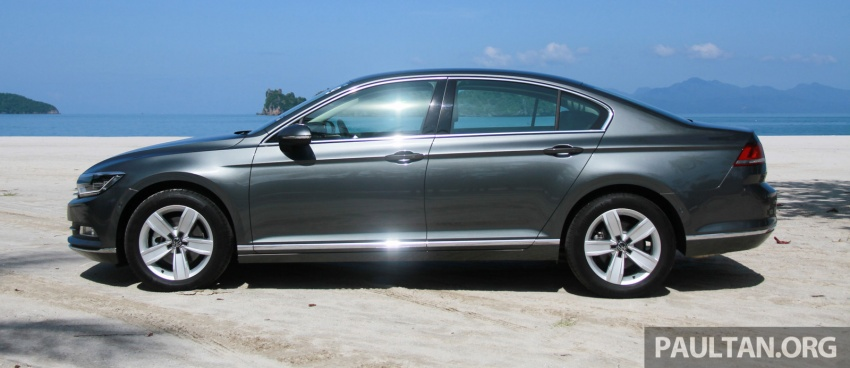 B8 Volkswagen Passat previewed in Malaysia – 1.8L and 2.0L TSI, 3 trim levels, launching this month Image #573343