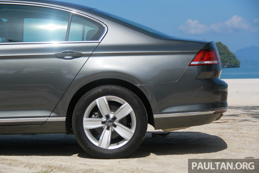 Volkswagen Passat B8 dipertonton awal sebelum pelancaran – pilihan enjin 1.8L dan 2.0L TSI, tiga varian Image #573262