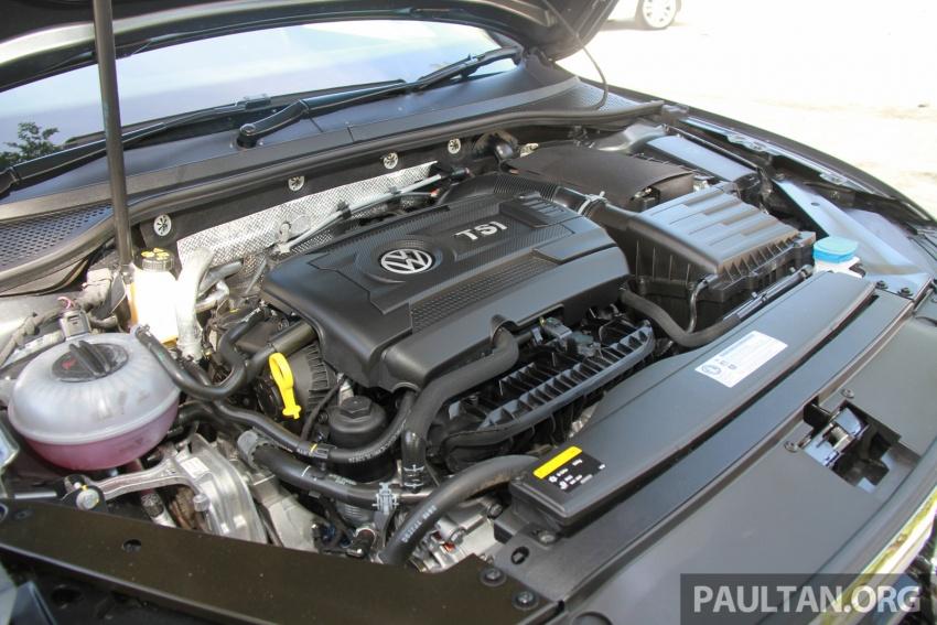 Volkswagen Passat B8 dipertonton awal sebelum pelancaran – pilihan enjin 1.8L dan 2.0L TSI, tiga varian Image #573267