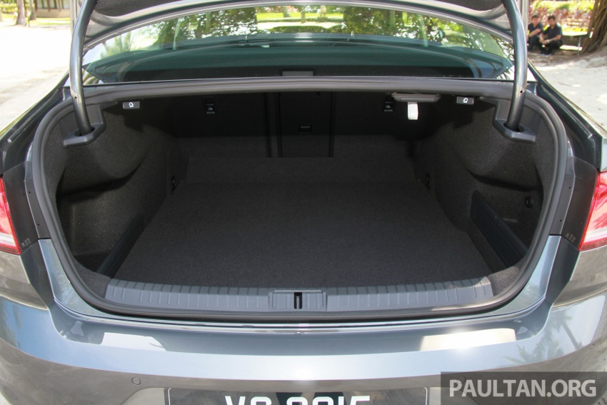 Volkswagen Passat B8 dipertonton awal sebelum pelancaran – pilihan enjin 1.8L dan 2.0L TSI, tiga varian Image #573269
