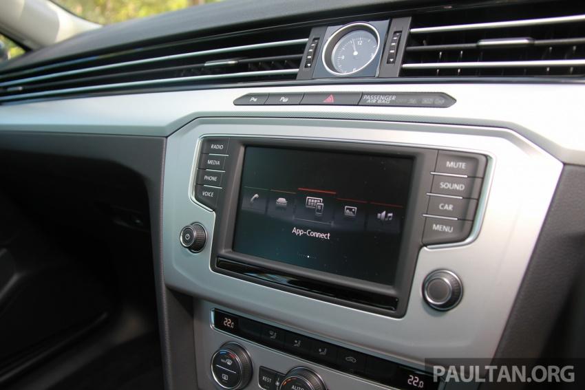 Volkswagen Passat B8 dipertonton awal sebelum pelancaran – pilihan enjin 1.8L dan 2.0L TSI, tiga varian Image #573279