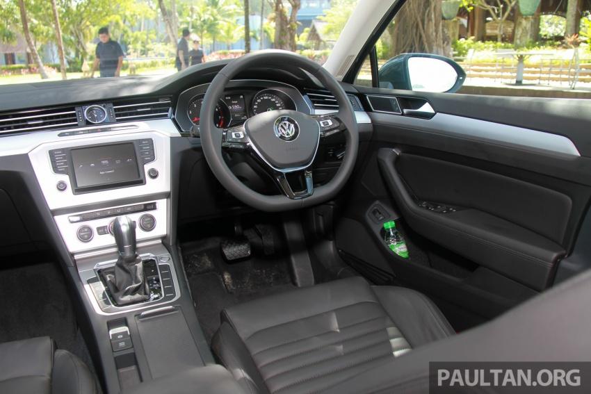 Volkswagen Passat B8 dipertonton awal sebelum pelancaran – pilihan enjin 1.8L dan 2.0L TSI, tiga varian Image #573282