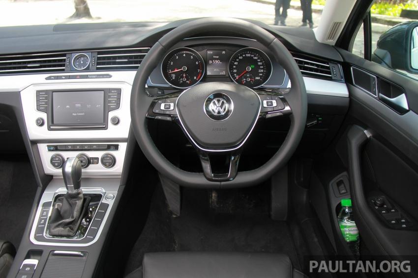 Volkswagen Passat B8 dipertonton awal sebelum pelancaran – pilihan enjin 1.8L dan 2.0L TSI, tiga varian Image #573283