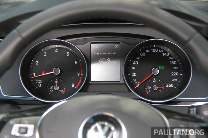 Volkswagen Passat B8 dipertonton awal sebelum pelancaran – pilihan enjin 1.8L dan 2.0L TSI, tiga varian Image #573284