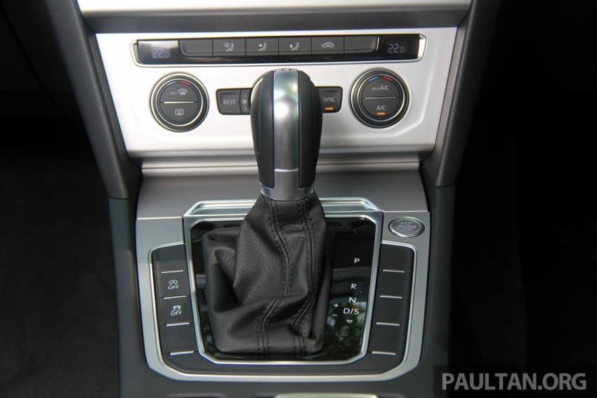 Volkswagen Passat B8 dipertonton awal sebelum pelancaran – pilihan enjin 1.8L dan 2.0L TSI, tiga varian Image #573285