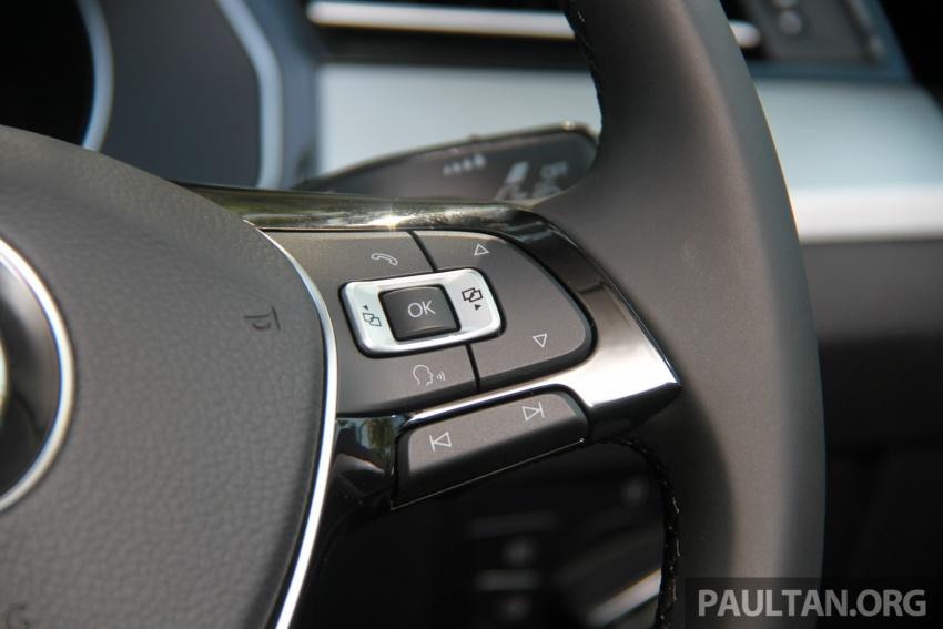 Volkswagen Passat B8 dipertonton awal sebelum pelancaran – pilihan enjin 1.8L dan 2.0L TSI, tiga varian Image #573289