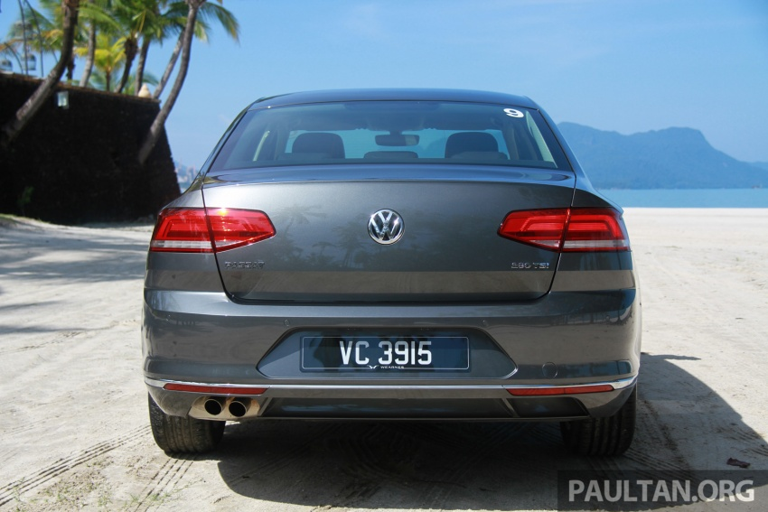 Volkswagen Passat B8 dipertonton awal sebelum pelancaran – pilihan enjin 1.8L dan 2.0L TSI, tiga varian Image #573256