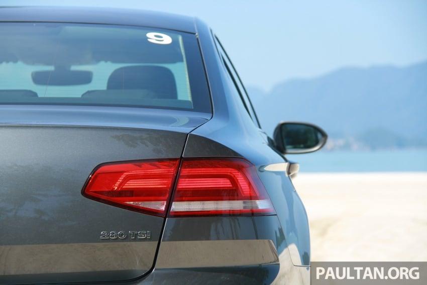 Volkswagen Passat B8 dipertonton awal sebelum pelancaran – pilihan enjin 1.8L dan 2.0L TSI, tiga varian Image #573257
