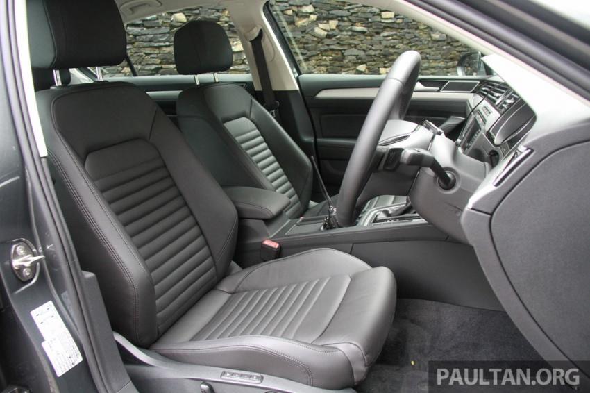 Volkswagen Passat B8 dipertonton awal sebelum pelancaran – pilihan enjin 1.8L dan 2.0L TSI, tiga varian Image #572683