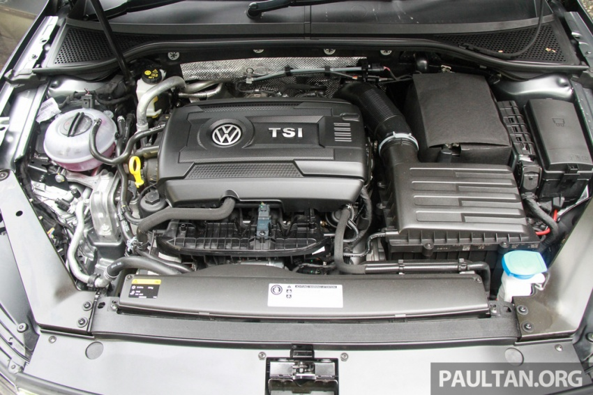 Volkswagen Passat B8 dipertonton awal sebelum pelancaran – pilihan enjin 1.8L dan 2.0L TSI, tiga varian Image #572685