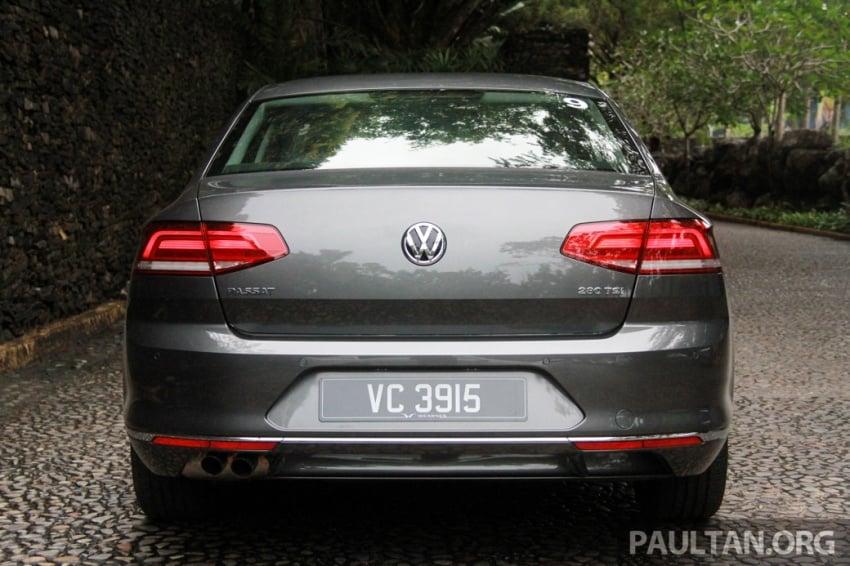 Volkswagen Passat B8 dipertonton awal sebelum pelancaran – pilihan enjin 1.8L dan 2.0L TSI, tiga varian Image #572687